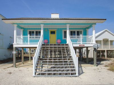 Photo for Adorable Home, Gulf Views, Pet Friendly, Up to $100 discount pass included!