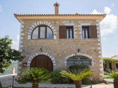 Photo for Villa Alexander is an autonomous, stone-built, with fabulous views