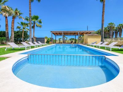 Photo for Nice finca near the sea with pool