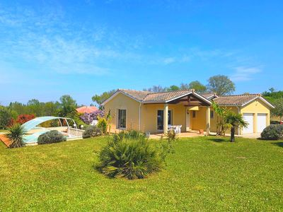 Photo for holiday house with pool welcome 10 people dordogne