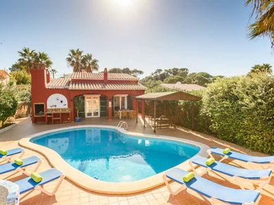 Photo for 3 bedroom Villa, sleeps 6 in Cala en Porter with Pool, Air Con and WiFi