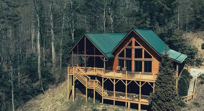 Photo for Family-Friendly Log Cabin Centrally Located to All High Country Destinations!
