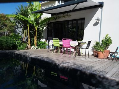 Photo for House with heated pool and plancha