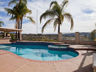 Photo for Private Gated Temecula Wine Country Ranch Estate with Pool. Spa & View!