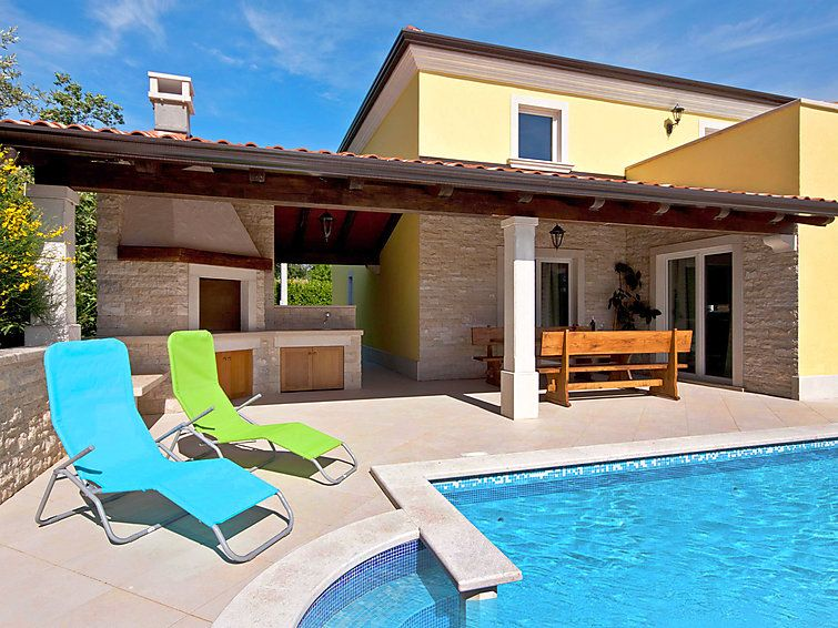 Vacation home kanal in umag istria 8 persons 4 bedrooms for 8 bedroom vacation homes