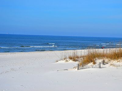 Photo for New Listing! Gulf front condo w/ shared pool & hot tub, beach access!