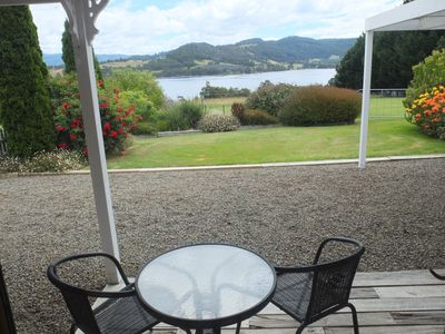 Photo for Self-contained garden cottage with stunning views of the Huon River