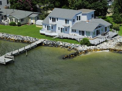 "Photo for YOUR ""WATERFRONT"" FAMILY VACATION HOME & ONE BEDROOM APARTMENT WITH KITCHEN!"