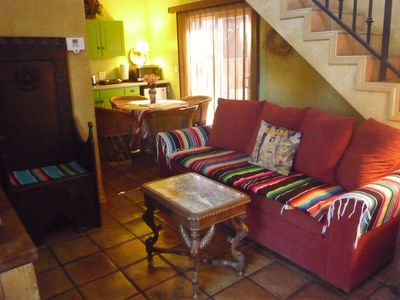Photo for Spanish Hacienda Celebrity Estate! Loft condo/pets/pool/spa/BBQ/laundry/LGBT