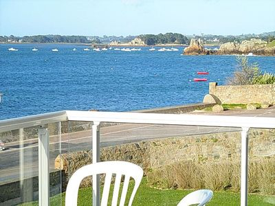 Photo for Bay of Perros Guirec, Bréhat, in PortBlanc, T3,70m2, Wifi, Sea View EXCEPTIONAL