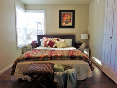 Photo for Darling Retreat, Fireplace, WD, AC, Workspace, Near Pubs, Hospitals, Downtown