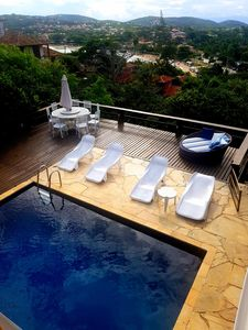 Photo for House with pool and spectacular view of the Ferradura 220 meters from the beach