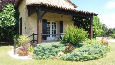 Photo for Beautiful Dordogne Self Catering Cottage,Exclusively for Adults, 2 pools