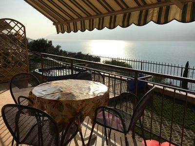 Photo for Holiday apartment Brenzone for 4 persons with 2 bedrooms - Holiday apartment in a villa