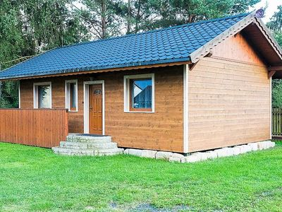 Photo for Beautiful, well maintained holiday home with terrace on the lake, ideal for anglers