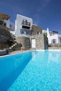 Photo for Marvelus Villa Azur to rent in Mykonos, with 3 bedrooms and private pool.