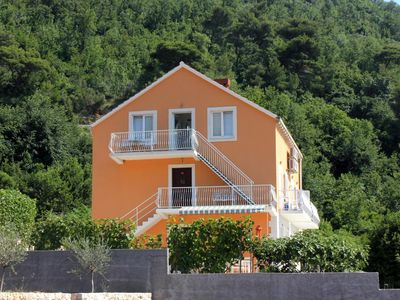 Photo for Studio flat with air-conditioning Slano, Dubrovnik (AS-3184-c)