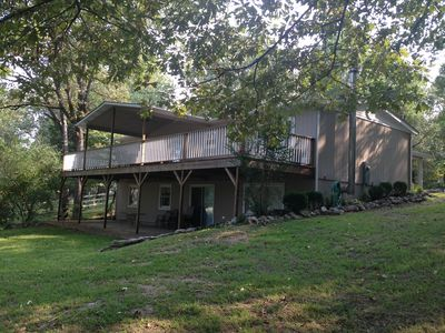 Photo for OZARK GETAWAY - Mtn. Home AR -Cabin Sleeps 10 - 3 Full Baths, Private Setting