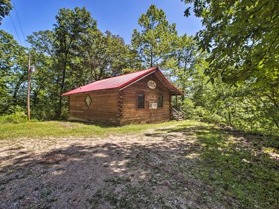 Photo for NEW! Secluded Studio 1 mi to Thorncrown Chapel