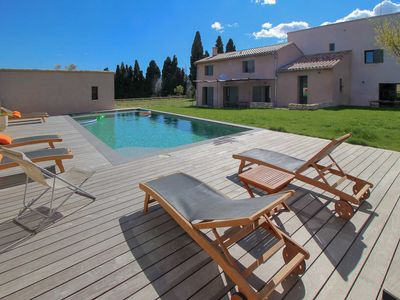 Photo for Holiday cottage 17P. Le Castellet, Var, private pool, beaches 10 km
