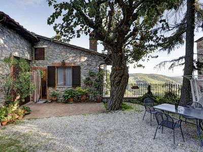 Photo for Lodge Ricavo in the countryside with heated and panoramic pool