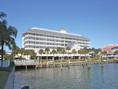Photo for Waterfront Views,W/D, Free Wi-Fi, Cable & Phone, DVR, Walking Distance to Everything! -404 Dockside
