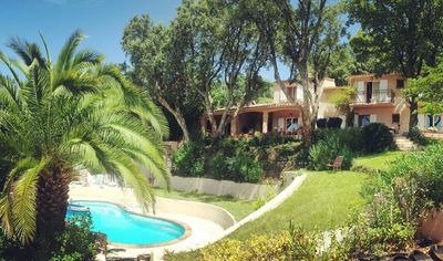 Photo for La Garde Freinet - A quiet and secluded five-bedroom villa with pool