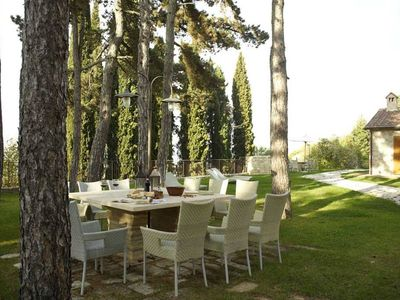 Photo for Castellina in Chianti 2 bed apartment with pool