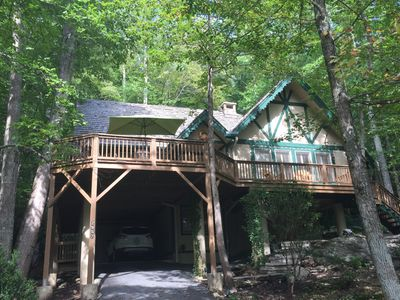 Photo for Location! Location! This creek side home is central to all ski areas
