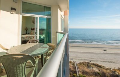 Photo for Beautiful penthouse condo with a great ocean front view!