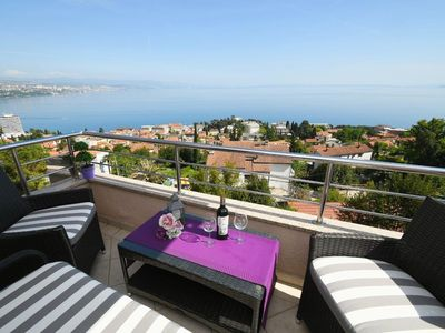Photo for Apartment Mira with a perfect sea view