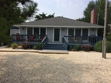 """500"""" to one of Barnegat Lights Best beach - Great Family home - booking now 2018"""