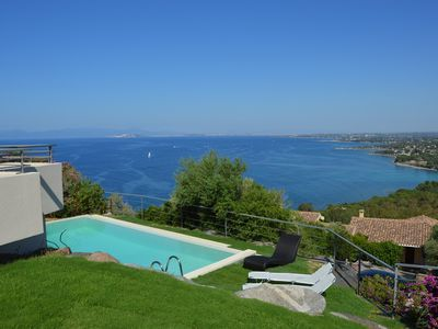Photo for Villa with private pool and gorgeous sea views in South Sardinia.
