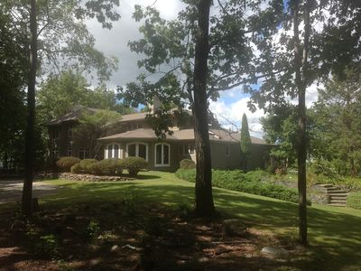 Photo for Spectacular Private Hilltop Contemporary Estate (Pool/Catamount/Bash Bish Fall)