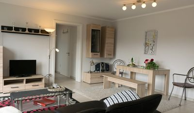Photo for Luxurious 4 * Neubau apartment, 75 sqm + 55 sqm Mosel-Burgblick, Koblenz / Dieblich