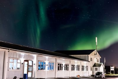 One of the nice things about being in a small village: northern lights!