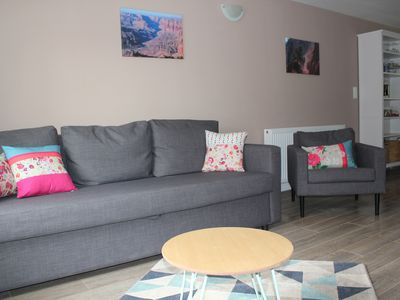 Photo for 70 m² duplex apartment renovated to new in Old Gerardmer, for a family