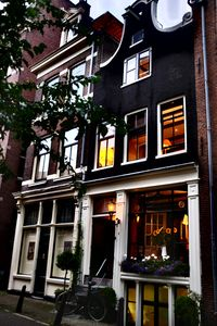 Picture perfect New Holland House - warmed by the evening lights!