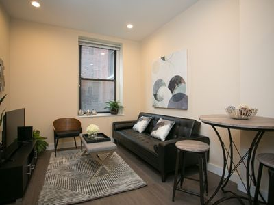 Photo for Sonder | Winthrop Square | Warm 1BR + Laundry