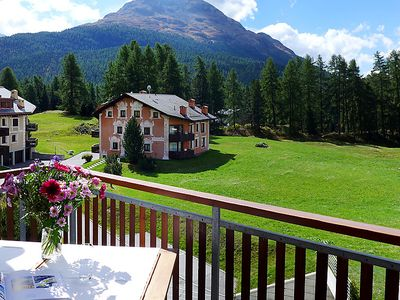 Photo for Apartment Chesa Vadret 12 in Pontresina - 4 persons, 2 bedrooms
