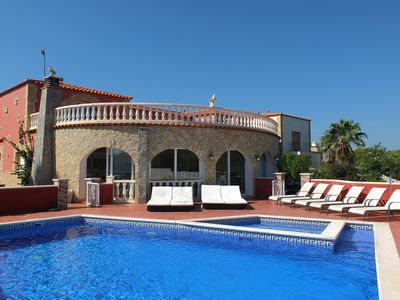 Photo for Villa Palmera, private swimming pool with stunning views