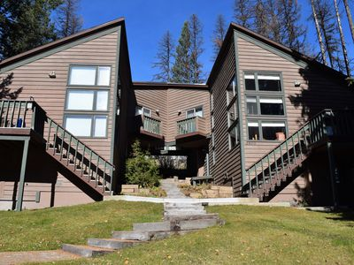 Photo for Whitefish Mountain Resort, Ski In Ski Out Condo, 3 Bed 2 Bath, Private Hot Tub!