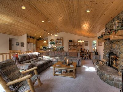 Photo for Pete's Place: 4 BR / 2.5 BA house/cabin in Tahoe Vista, Sleeps 8