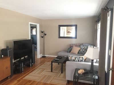 Photo for Cozy ranch, quiet street...17 minute walk to the Big House!