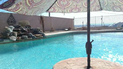 Photo for Luxurious 3 Bed-2 Bath home with Pool Lake View and Boat/RV parking
