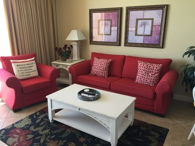 **305E** has beautiful ocean front view and queen sleeper sofa