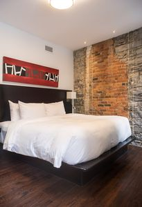 Photo for One closed bedroom loft- Old Montreal
