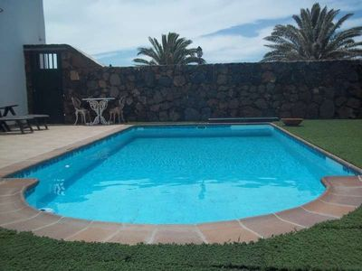 Photo for House in Teguise with Internet, Pool, Balcony (970432)