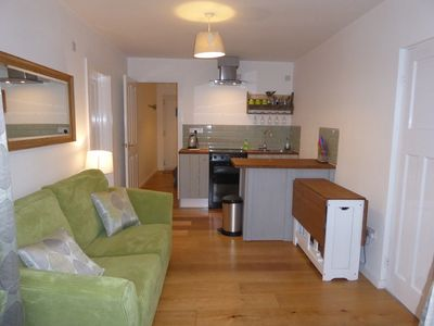 Photo for Seaview, self contained 1 bedroom contempory apartment  in Mawgan Porth.