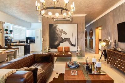 Fully Equipped Spacious Living Room